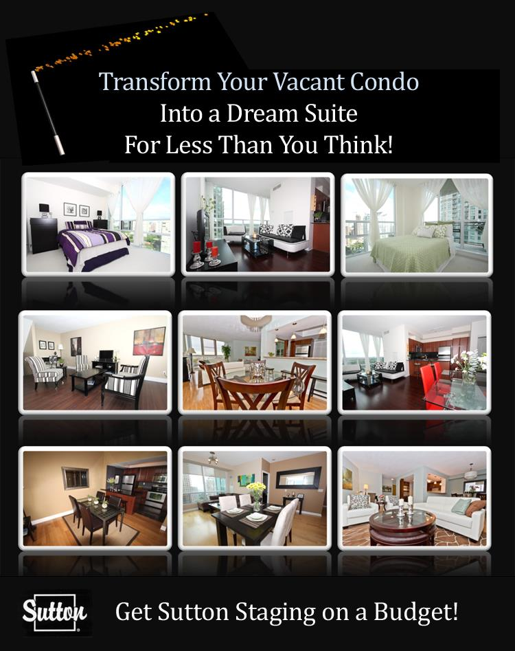 home staging selling your house or condo