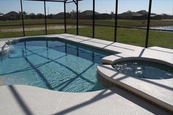 Watersong 5 bedroom pool home rental near Disney