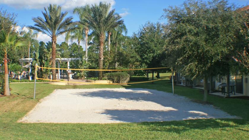 Emerald Island Volleyball Court