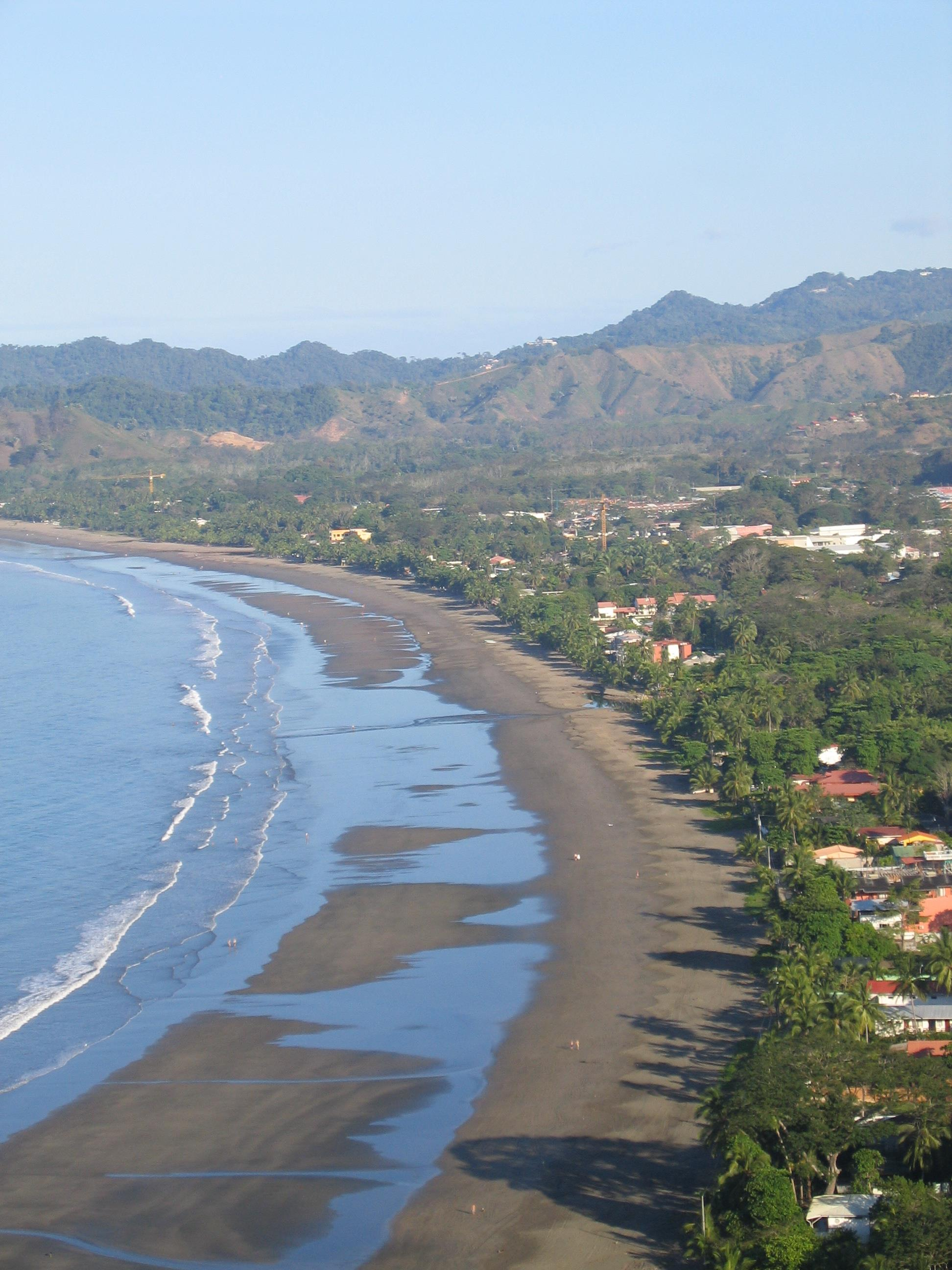 Costa Rica View of Jaco Bay