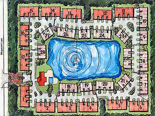 Mariposa Naples Fl site plan
