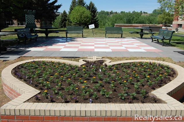 Medicine Hat Outdoor Chess Patio