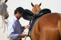 Saddle your Horse in Comporta Alentejo Portugal