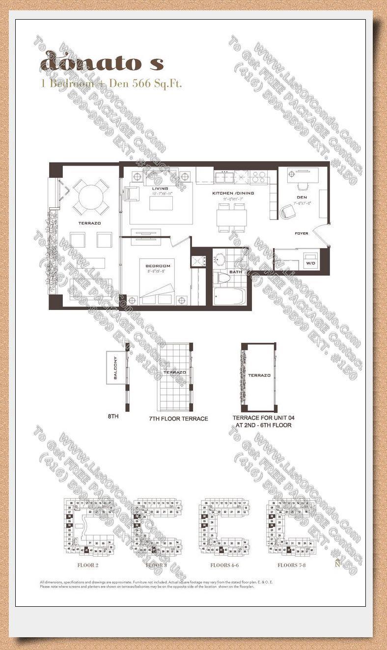 Treviso Ⅱ Condos | 830 Lawrence Ave W | 4 Condos for Sale ...