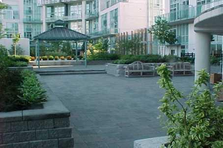 City Gate condominium patio