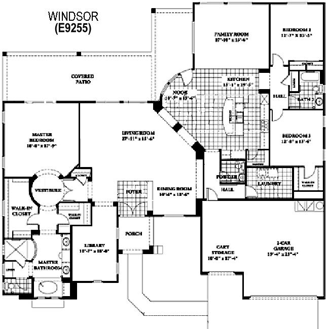 Sun City Grand Windsor floor plan, Del Webb Sun City Grand Floor Plan Model Home House Plans Floorplans Models in Surprise Phoenix Arizona AZ Ken Meade Realty Kathy Anderson