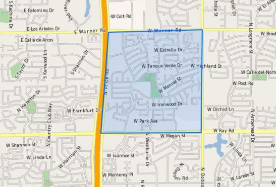 CTA–Goodman_Elementary_School_Homes_for_Sale Boundary Map