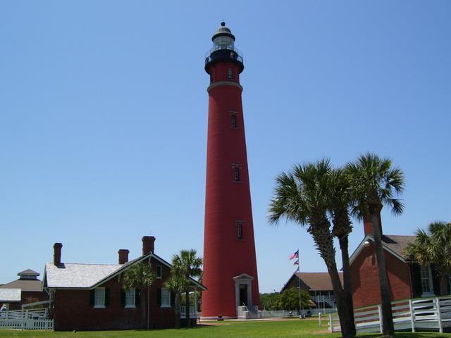 Ponce DeLeon Lighthouse, Ponce Inlet, FL
