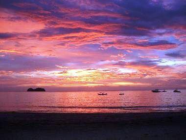 Sunset in Playa Hermosa Costa Rica