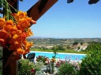 A view from property in Stroumbi Cyprus