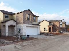 A view of homes going up in Lynnbrook 78748