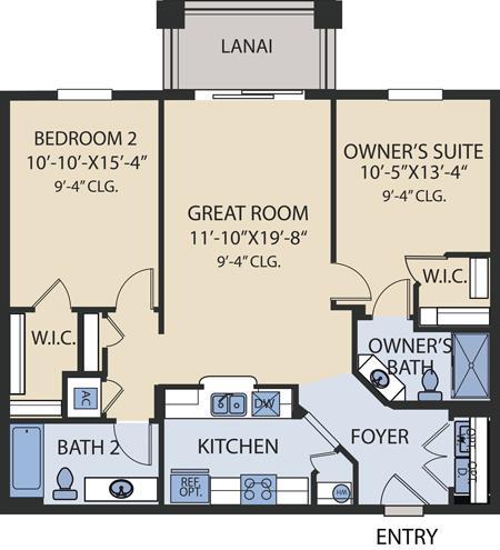 Napa Floorplan