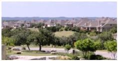 A view of the Hill Country and Ledge Stone neighborhood.