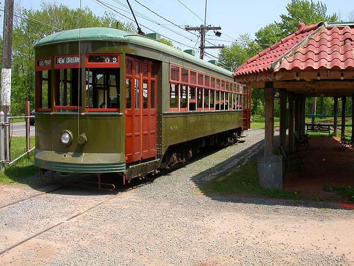 CT Trolley Museum in East Windsor