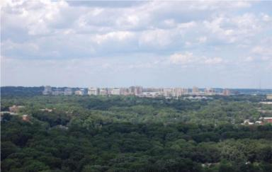 Skyline Plaza Roof Top View,  Falls Church, 22041, 3701-3705 George Mason Dr.