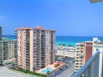 Condos for Sale in Hollywood Beach, Hollywood, Florida $146,500