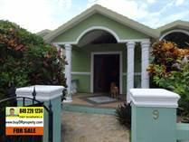 Homes for Sale in La Mulata, Sosua, Puerto Plata $160,000