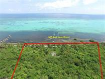 Lots and Land for Sale in North Island Area, Ambergris Caye, Belize $2,490,000