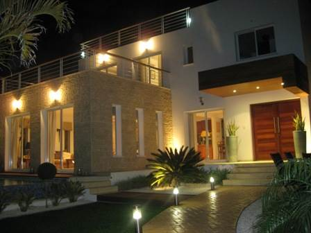 Akamas Luxury Villa At Night