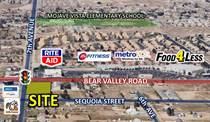 Lots and Land for Sale in Hesperia, California $750,000