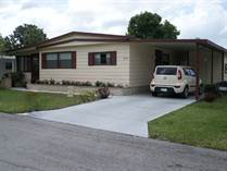 Homes for Sale in Camelot Lakes MHC, Sarasota, Florida $38,500