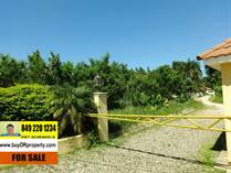 Lots and Land for Sale in La Mulata, Sosua, Puerto Plata $38,000