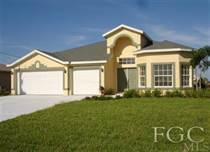 Homes Sold in Cape Coral, Florida $167,500