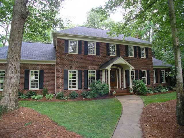 Classic full-brick home