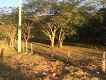 Lots and Land for Sale in Caña Fistula, Santa Cruz, Guanacaste $119,000