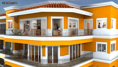 Balcony rendering