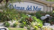 Lots and Land for Sale in Palmas del Mar, Humacao, Puerto Rico $249,500