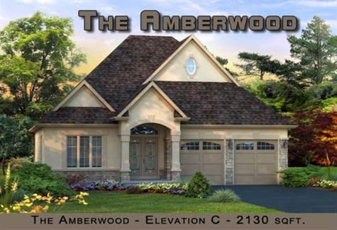 THE AMBERWOOD - ELEV. C - 2130 sqft