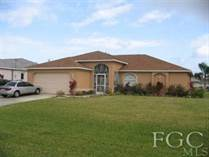 Homes Sold in Cape Coral, Florida $75,000