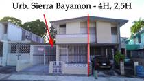 Homes for Rent/Lease in Sierra Bayamon, Bayamon, Puerto Rico $0 one year
