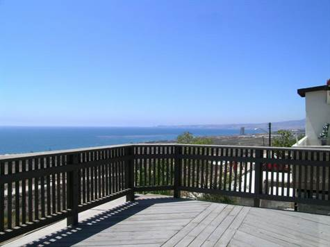 Panoramic Ocean view Deck
