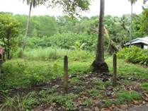 Lots and Land for Sale in Bejuco Beach, Jacó, Puntarenas $78,000