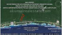 Lots and Land for Sale in Rancho San Lorenzo, Akumal, Quintana Roo $13,200,000