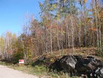 Lots and Land for Sale in White Lake, Lanark Highlands, Ontario $68,000