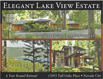 Homes for Sale in Scotts Flat Lake, Nevada City, California $999,500