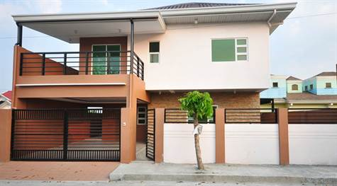 House for sale- San Fernando Pampanga front view