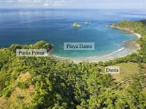 Lots and Land for Sale in Playa Danta, Guanacaste $350,000