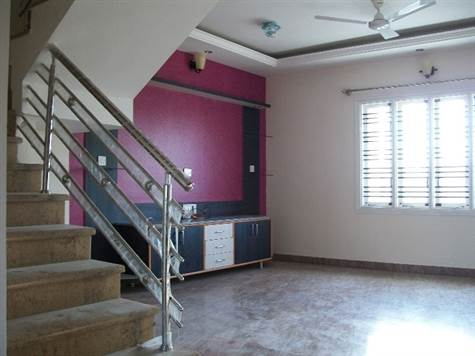 Living and Cetral Staircase