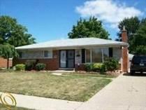 Homes for Sale in Warren, Michigan $188,000