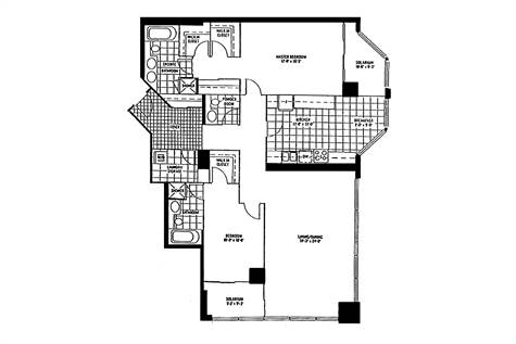 10 QUEENS QUAY WEST #2106 (Floor Plan)
