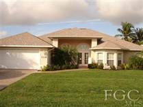 Homes Sold in Cape Coral, Florida $225,000