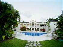 Homes for Sale in Sandy Lane, St. James, St. James $19,000,000
