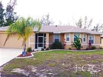 Homes Sold in Cape Coral, Florida $199,000