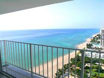 Condos for Sale in The Aquarius, Hollywood, Florida $299,000