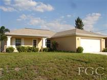 Homes Sold in Cape Coral, Florida $119,900