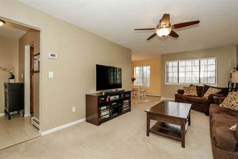 Welcome Home--Your Living View Facing Front Foyer, Dining Room & Your Balcony